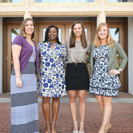Family and Child Sciences Scholarship recipients