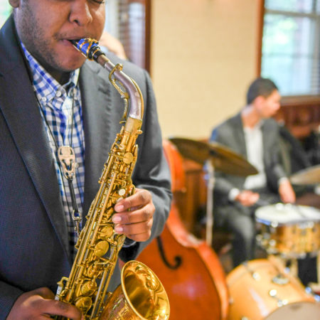 College of Music, student jazz group