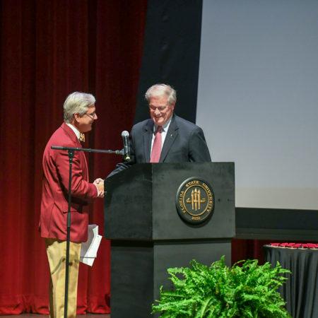 FSU President, John Thrasher