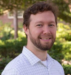 communications manager Josh Duke headshot